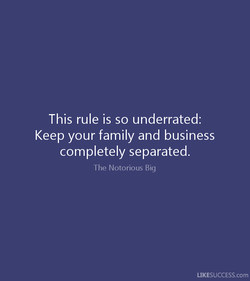 This rule is so underrated: 