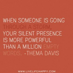 WHEN SOMEONE IS COINC 