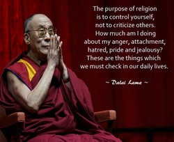 The purpose of religion 