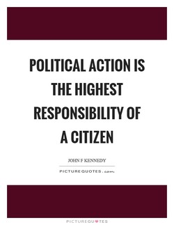 POLITICAL ACTION IS 