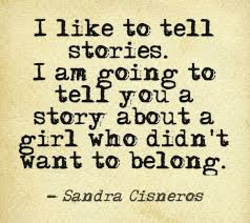 I like to tell 