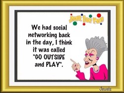 We had social 