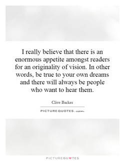 I really believe that there is an 