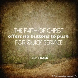 THE FAITH OF CHRIST 