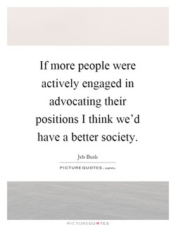 If more people were 