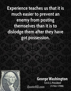 Experience teaches us that it is 