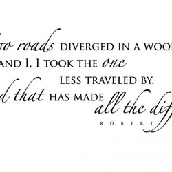 DIVERGED IN A WOO 