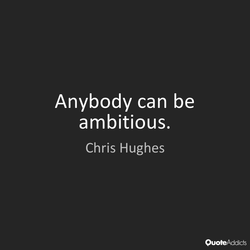 Anybody can be 