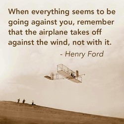 When everything seems to be 