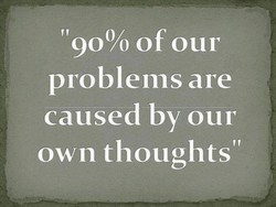 '900/0 of our 