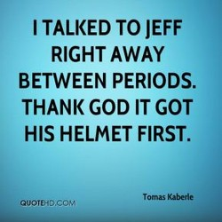I TALKED TO JEFF 