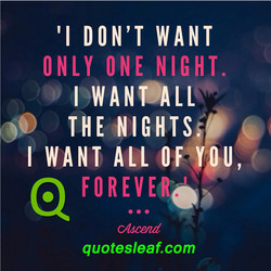'l DON'T WANT 