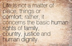 TLife-tSnöt a matter of 