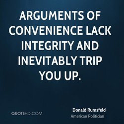 ARGUMENTS OF 