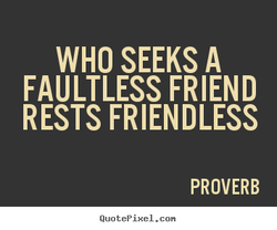 WHO SEEKS A 