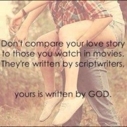 Don't compare youruovestory 