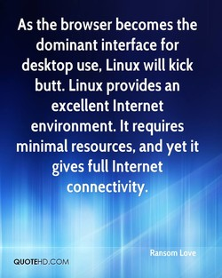 As the browser becomes the 