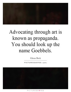 Advocating through art is 