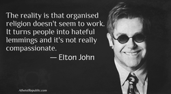The reality is that organised 