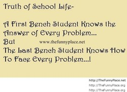 Truth of Sehool Life- 