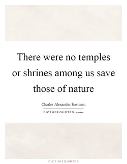 There were no temples 