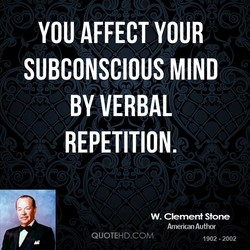YOU AFFECT YOUR 