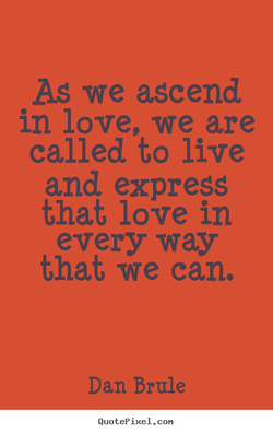 As we ascend 