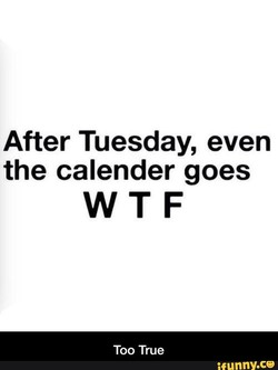 After Tuesday, even 