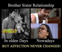 In olden Days Nowadays 