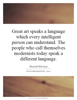 Great art speaks a language 