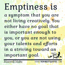 Emptiness is 