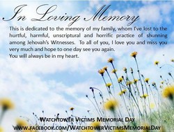 This is dedicated to the memory of my family, whom Yve lost tothe 