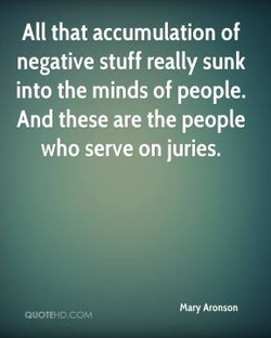 All that accumulation of 