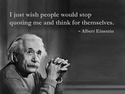 I just wish people would stop 