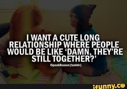 I WANT A CUTE LONG 