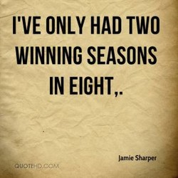 I'VE ONLY HAD TWO 