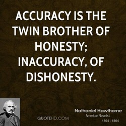 ACCURACY IS THE 