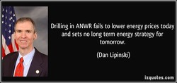 Drilling in ANWR fails to lower energy prices today 