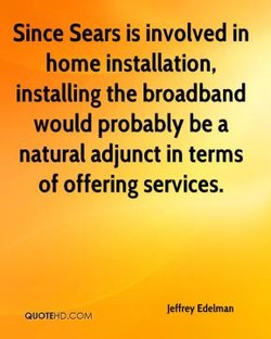 Since Sears is involved in 