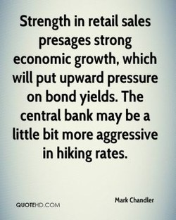 Strength in retail sales 