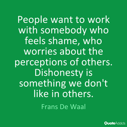 People want to work 