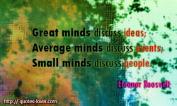 Great minds is 