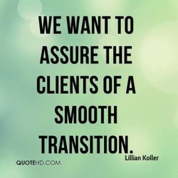 WE WANT TO 