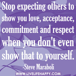 Stop expecting otherg to 