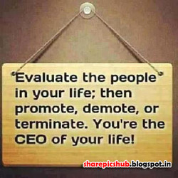 'Évaluate the people 