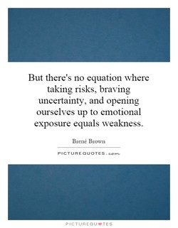 But there's no equation where 