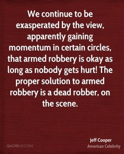 We continue to be 