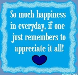 So 111UCh happiness 