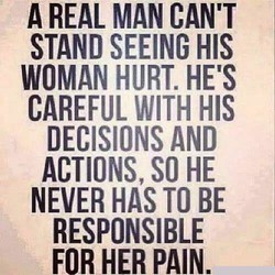 A REAL MAN CAN'T 