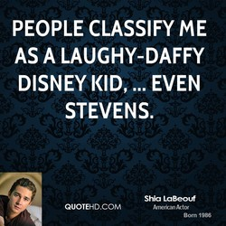 PEOPLE CLASSIFY ME 